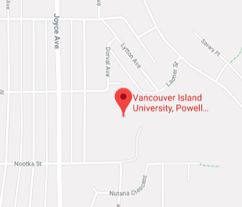 Google Map of Vancouver+Island+University