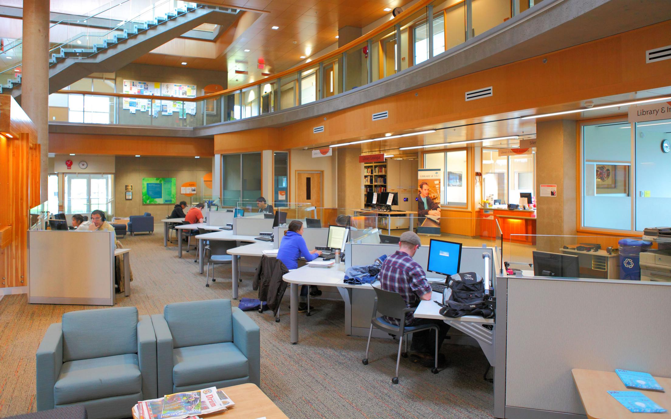 VIU Cowichan Campus Computer Stations