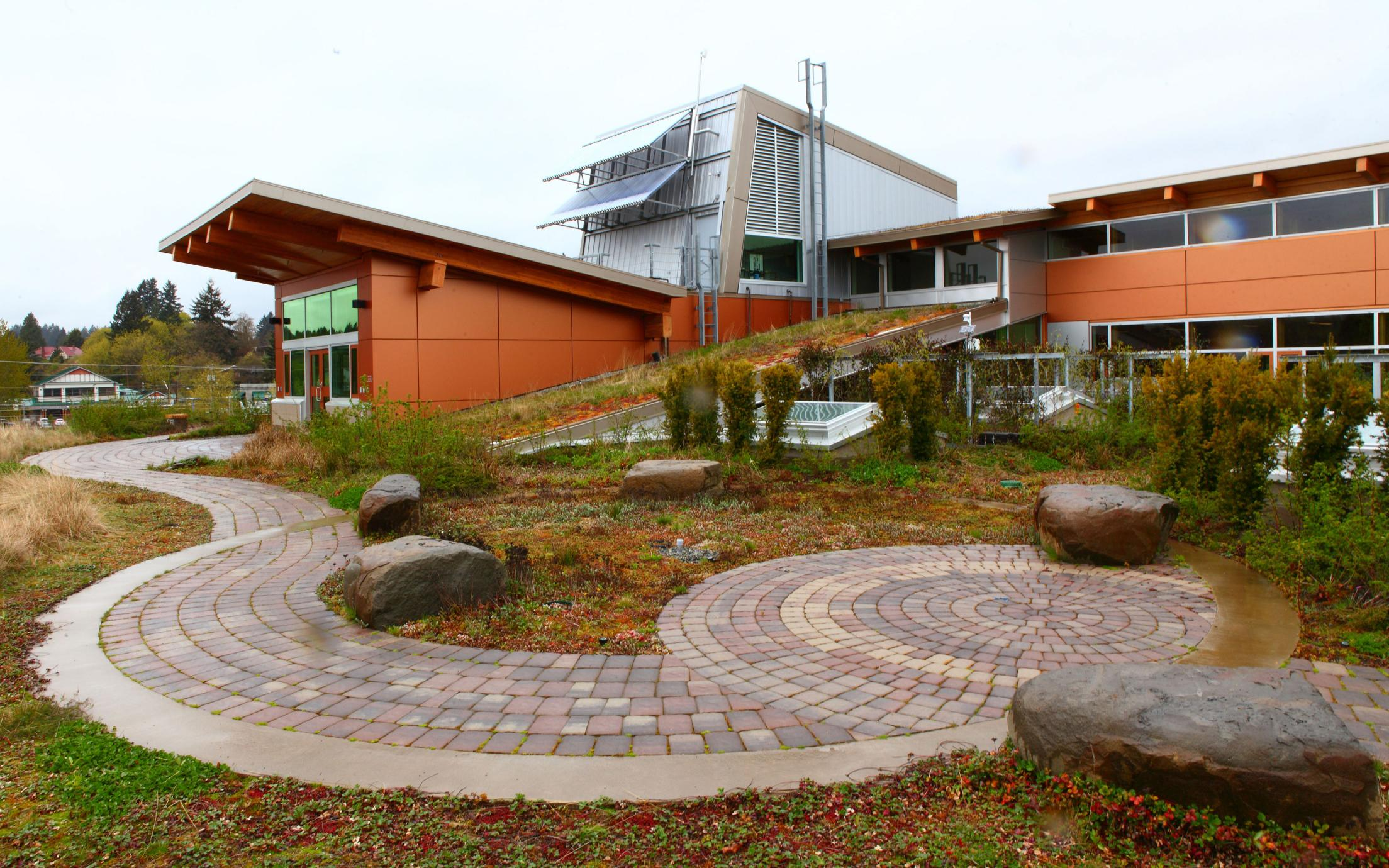VIU Cowichan Campus Green Roof