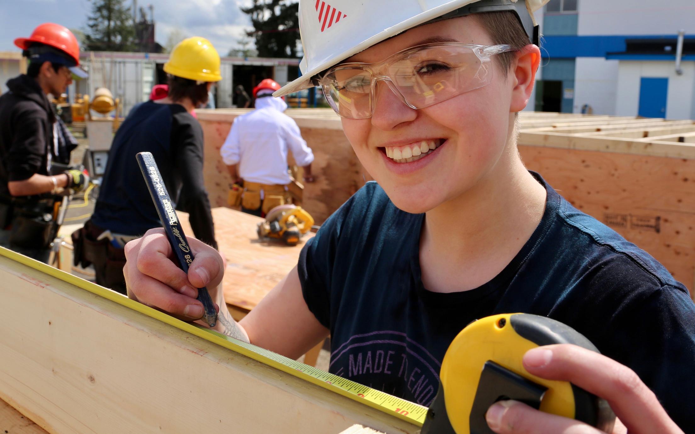 VIU Cowichan Trades Centre, Carpentry Program