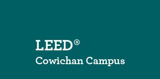 VIU LEED Cowichan Campus logo